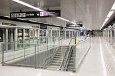 Tunnelbanestationen fragglarna — Stockfoto