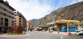 Bus station of Andorra la Vella — Stock Photo
