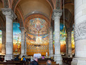 Interior of Church of the Sacred Heart — Stock Photo