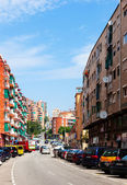 New streets in Badalona — Foto Stock