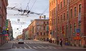 Vista de são petersburgo. gorohovaya rua — Fotografia Stock