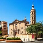 Church of San Juan de los Panetes and Zuda Tower — Stock Photo #32305247