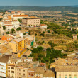 Panorama of Cardona from castle — Stock Photo