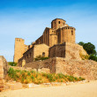 Castle of Cardona on sunny day — Stock Photo