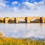 Stone bridge in Zaragoza — Stock Photo #32305579