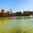 Panorama of Zaragoza — Stock Photo