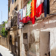 Stock Photo: Street of old town. Huesca