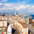 Metropolitan area with sea beach. Barcelona — Stock Photo