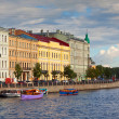 View of St. Petersburg. Fontanka River — Stockfoto
