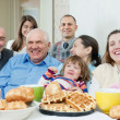 Family or group of friends — Stock Photo
