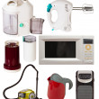 Set of household appliances — Stock Photo #32308279