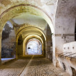 Stock Photo: Stables in dungeon of abandoned castle