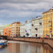 Stock Photo: View of St. Petersburg. Moyka River