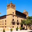 Stock Photo: Ayuntamiento of Huesca. Aragon