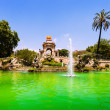 Cascada fountain in Barcelona — Stock Photo