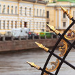 Railing of Summer Garden. Saint Petersburg — Stock Photo