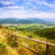 View of Pyrenees mountains valley  — Stock Photo