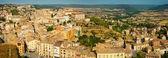 Panorama of Cardona from castle — Stock Photo