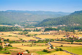 Rural landscape near Cardona — Stock Photo