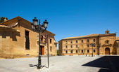 Plaza de la Universidad in Huesca — Stock Photo