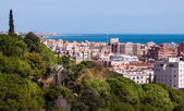 View of typical mediterranean city — Stock Photo
