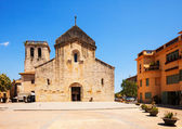 Church of Sant Pere. Besalu. Catalonia — Stock Photo