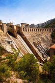 Dam at Segre river. Lleida — Stock Photo