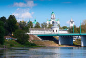 View of Yaroslavl in summer. Russia — Stock Photo