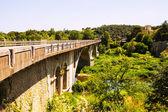 Automobile bridge in Banyoles — Stock Photo