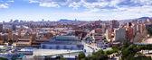Panorama of Barcelona from Badalona — Stock Photo