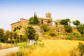 Old catalan village. Castellar de la Ribera — Stock Photo