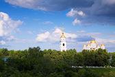 Catedral da assunção em vladimir — Foto Stock