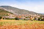 General view of catalan village. Coll de Nargo — Stock Photo