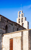 Gothic church in Banyoles — Stock Photo