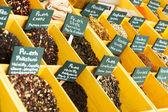 Seasonings at spanish market — Stock Photo