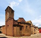 Vista del día de la catedral de urgel — Foto de Stock
