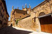Ancient street of Huesca — Stock Photo
