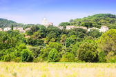 View of old Catalan town - Esponella — Stock Photo