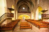 Interior of Sants Maria del Turers — Stock Photo