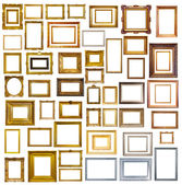 Many picture frames — Stock Photo