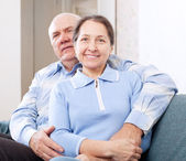 Joyful mature couple — Stock Photo