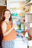 Gravid kvinna — Stockfoto