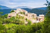 Village in Pyrenees — Stock Photo