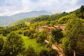 Wieś w pirenejach. noales, aragon — Zdjęcie stockowe