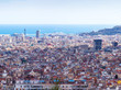 Picturesque view of Barcelona — Foto Stock