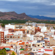 Ordinary spanish town in summer day. Sagunto — Stock Photo