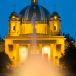 Night view of the Monumento a los Caidos — Stock Photo #35139577