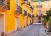 Courtyard in spanish city. Valencia — Stock Photo
