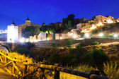 Night view of Toledo. Spain — Stock Photo