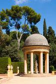 Danae Pavilion at Labyrinth Park in Barcelona — Stock Photo